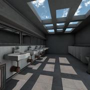 Offentlig toalett 3d model