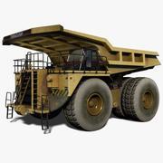 Bergbau-LKW 3d model