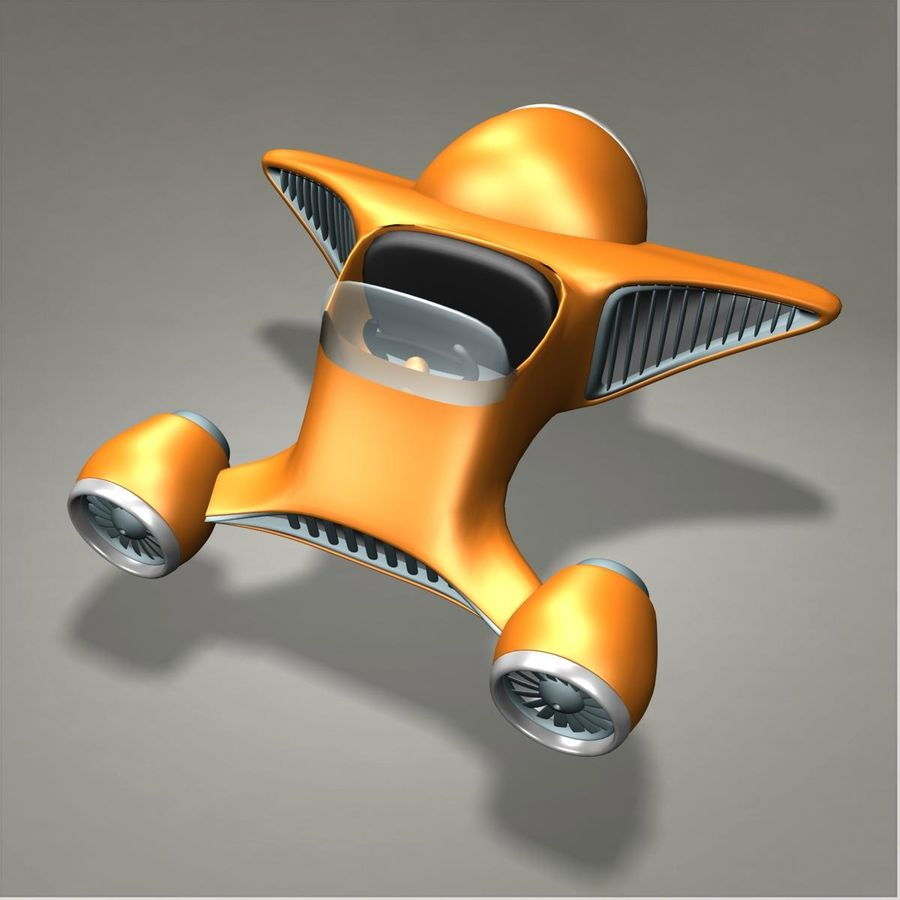 aereo royalty-free 3d model - Preview no. 1