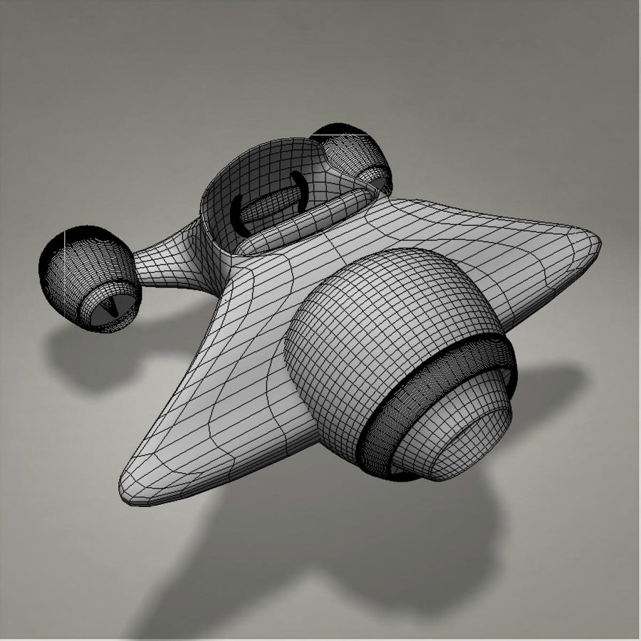 Aircraft royalty-free 3d model - Preview no. 16