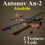 AN2 AND 3d model