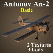 AN2基础 3d model