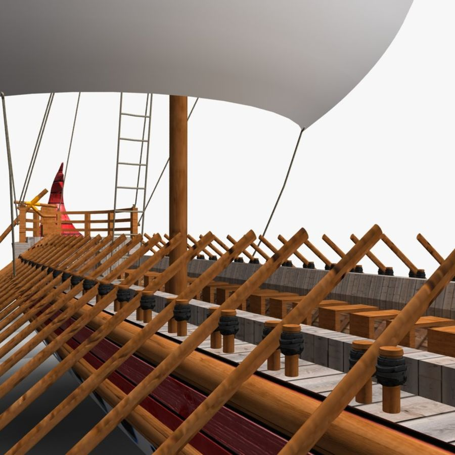 Okręt wojenny Odyseusz royalty-free 3d model - Preview no. 5