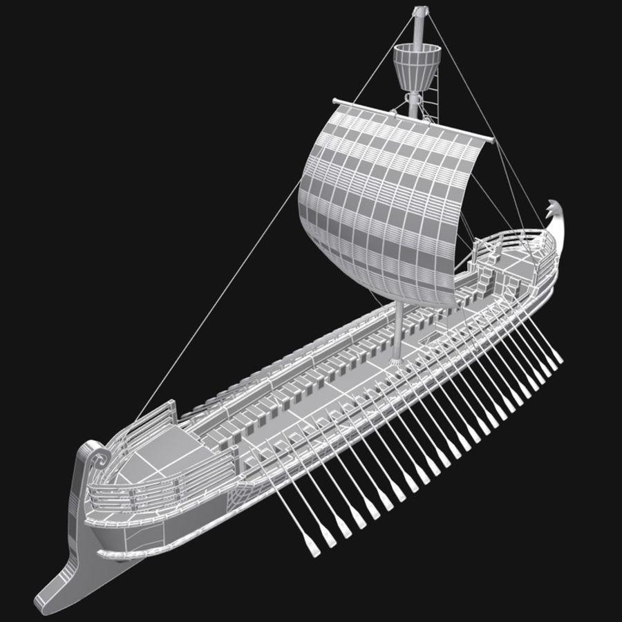 Okręt wojenny Odyseusz royalty-free 3d model - Preview no. 11