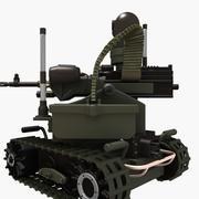 Robot da combattimento MAARS (extra dettagliato) 3d model