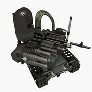 MAARS combat robot(Extra detailed) 3d model