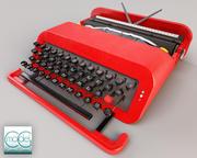 瓦伦丁打字机 3d model