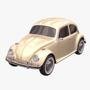 폭스 바겐 비틀 3d model