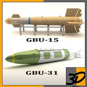 GBU BOMBS 3d model