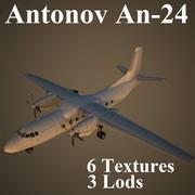 AN24 3d model