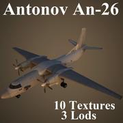 AN26 3d model