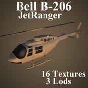 B206 3d model