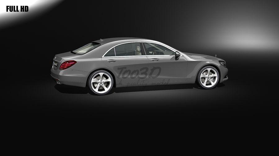 S_klass_L2+int royalty-free 3d model - Preview no. 2