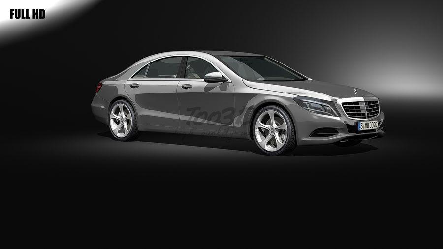 S_klass_L2+int royalty-free 3d model - Preview no. 1