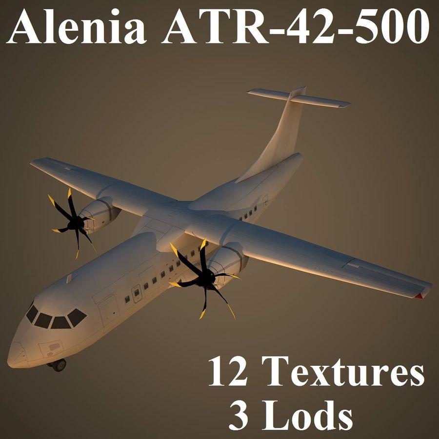 AT45 royalty-free 3d model - Preview no. 1
