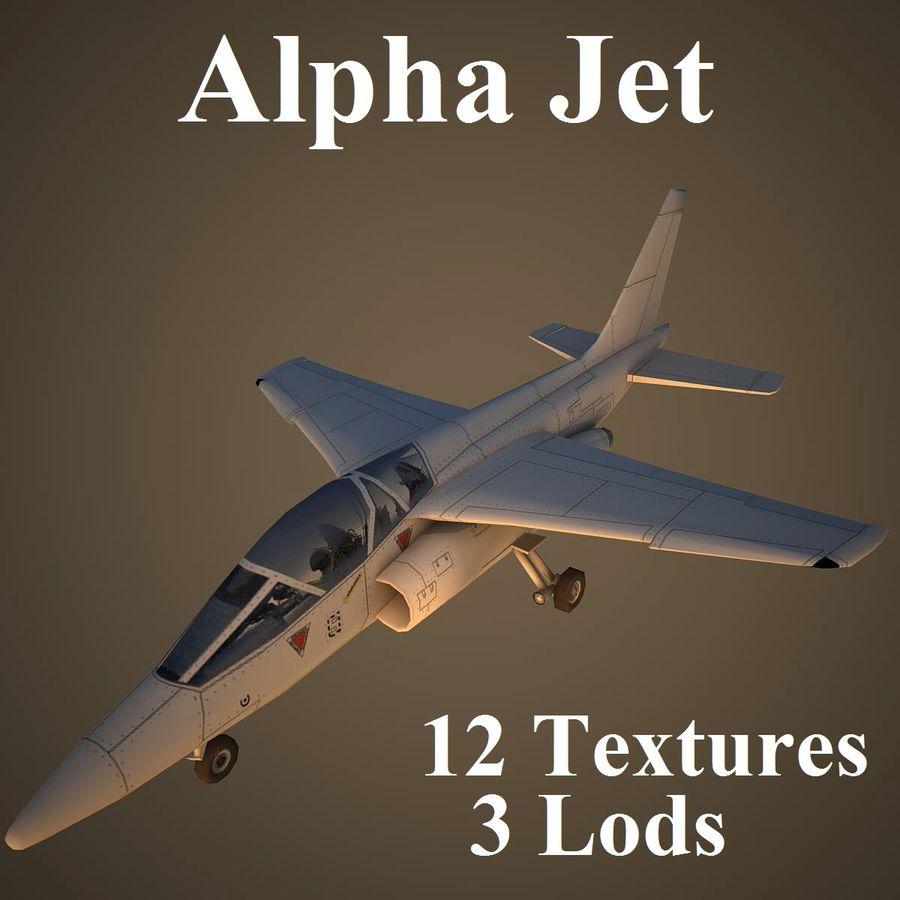 UN JET royalty-free modelo 3d - Preview no. 1