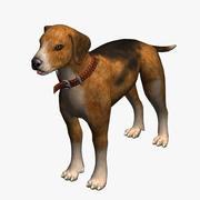 狗比格犬 3d model