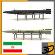 이란 미사일 3d model