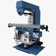 Horizontal Milling Machine 3d model