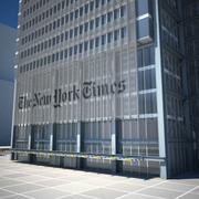 New York Times Kulesi 3d model