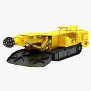 炭鉱掘削リグ 3d model