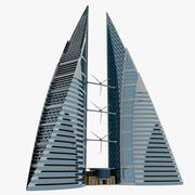 바레인 WTC 3d model