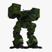 机械战士 3d model