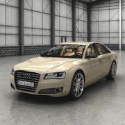 Audi A8 (2011) 3d model