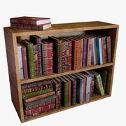 Full Bookshelf 3d model