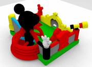 aufblasbares Spiel 3d model