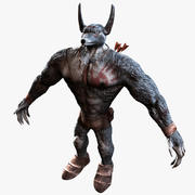 Wolf Man 3d model