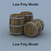 香椿桶 3d model
