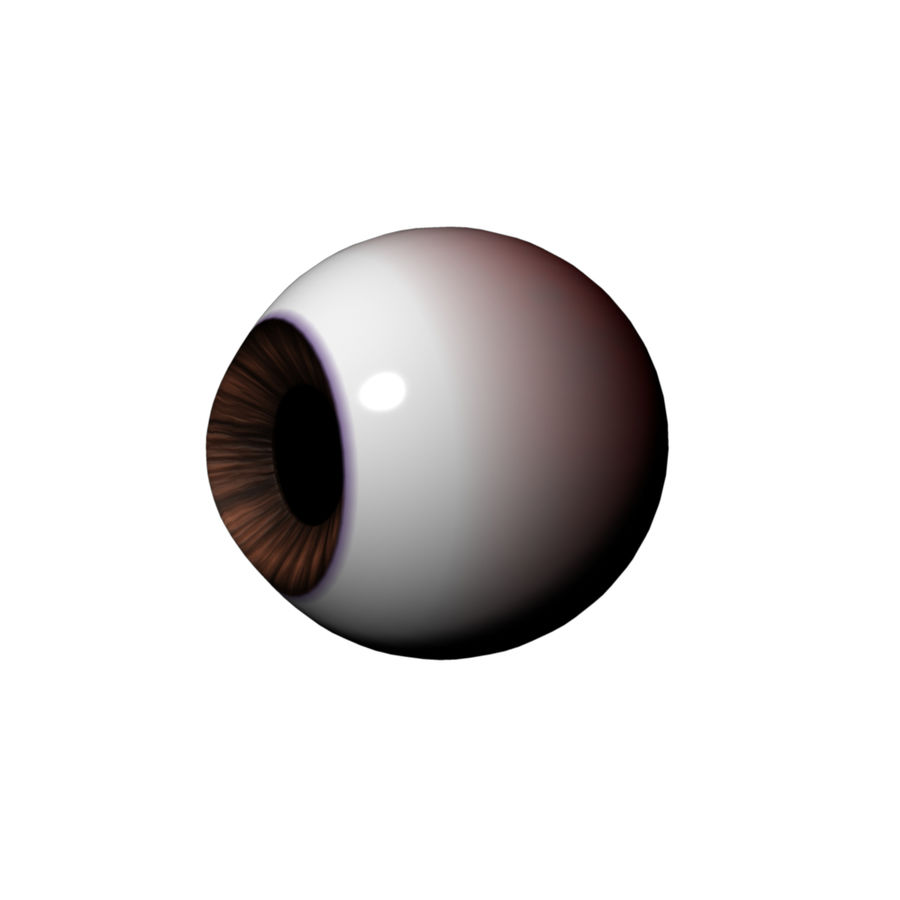 eyeball royalty-free 3d model - Preview no. 2