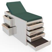 Exam Table 3d model