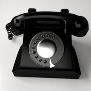 Wählscheibentelefon 3d model