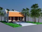 ベトナム家族礼拝堂 3d model