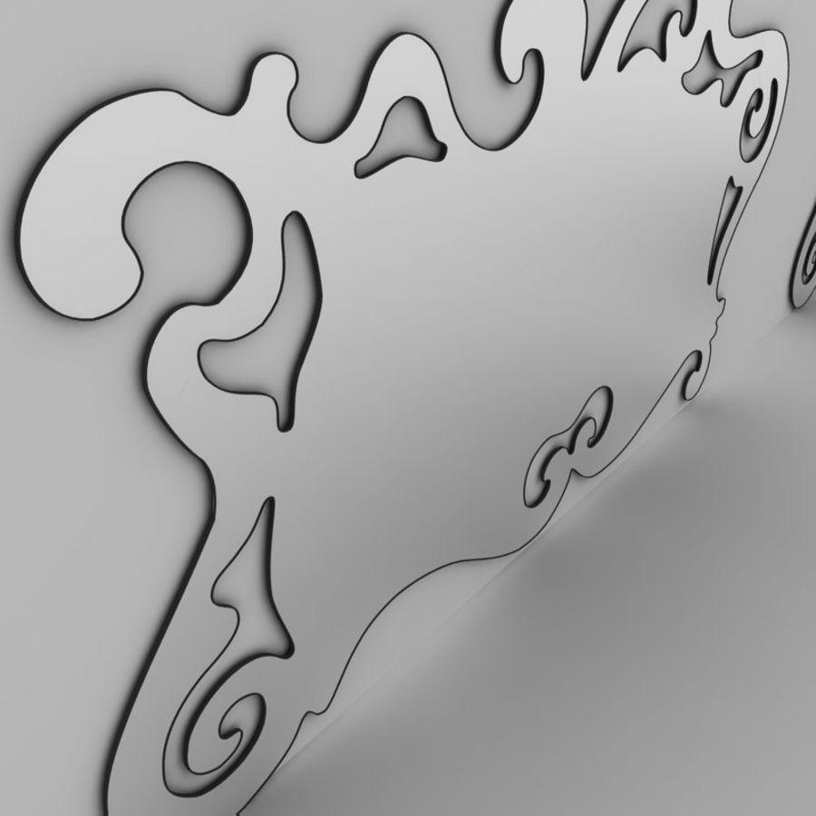 Зеркало Аиды Кантори royalty-free 3d model - Preview no. 3