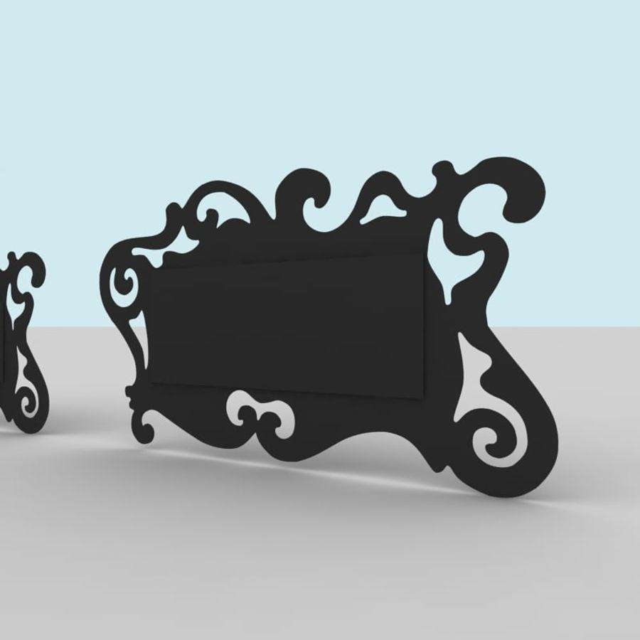Зеркало Аиды Кантори royalty-free 3d model - Preview no. 4