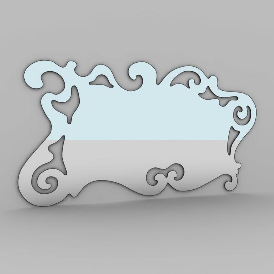 Зеркало Аиды Кантори royalty-free 3d model - Preview no. 1