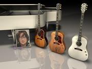 Gibson John Lennon 3d model