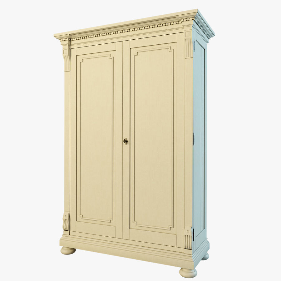 St.James Armoire royalty-free 3d model - Preview no. 1