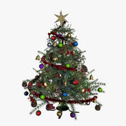크리스마스 트리 3d model