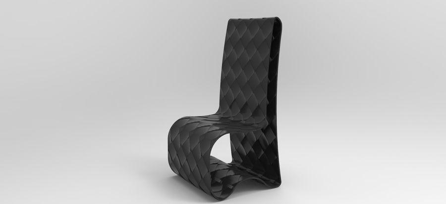 sandalye modeli royalty-free 3d model - Preview no. 6