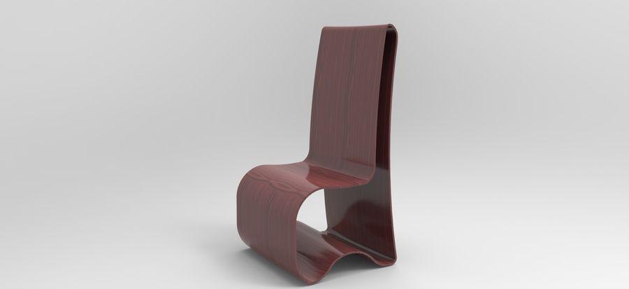 sandalye modeli royalty-free 3d model - Preview no. 10