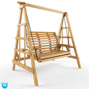 Swing de patio modelo 3d
