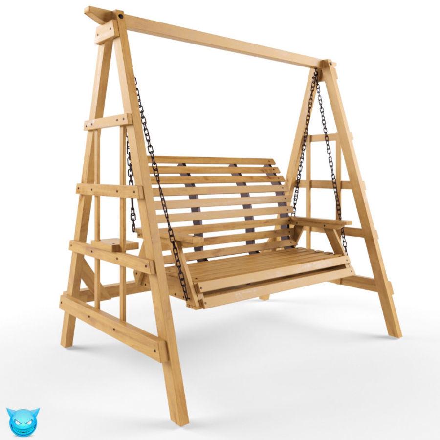 Yard Salıncak royalty-free 3d model - Preview no. 1