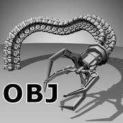 Braço mecânico do robô (OBJ) - (estilo um) 3d model