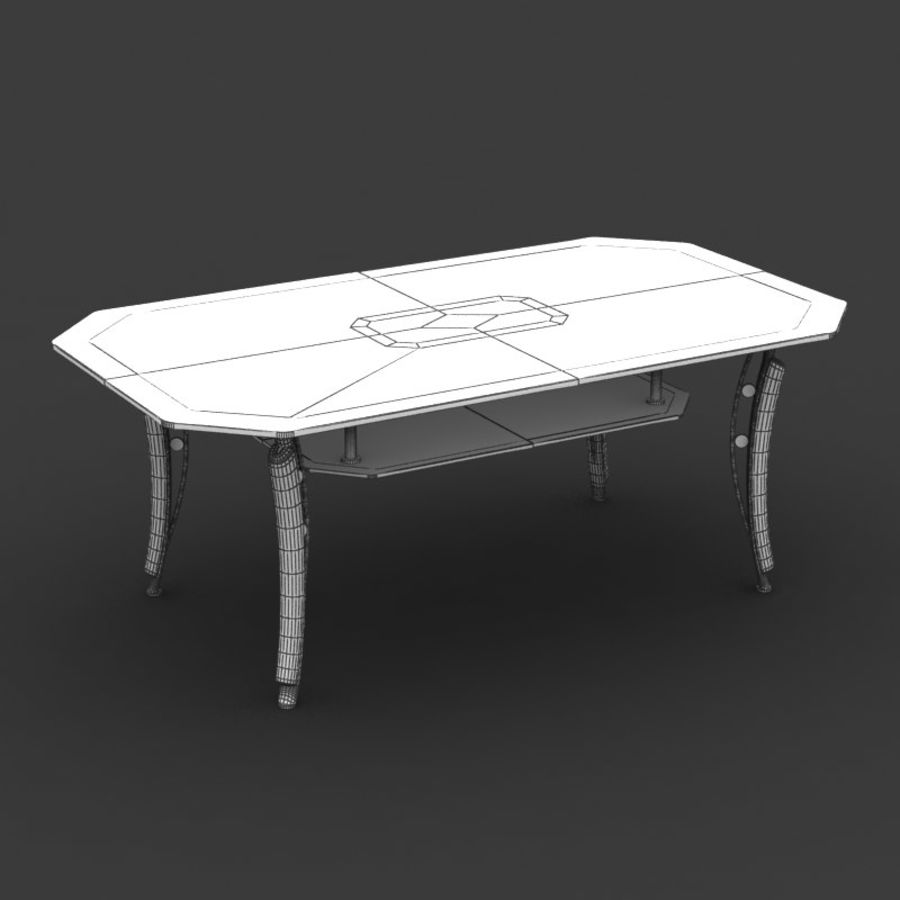 Centerbord 08 royalty-free 3d model - Preview no. 6