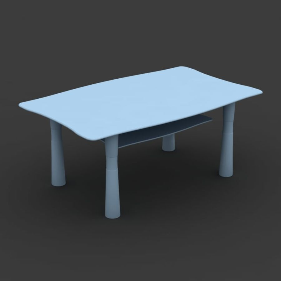 Centerbord 09 royalty-free 3d model - Preview no. 5