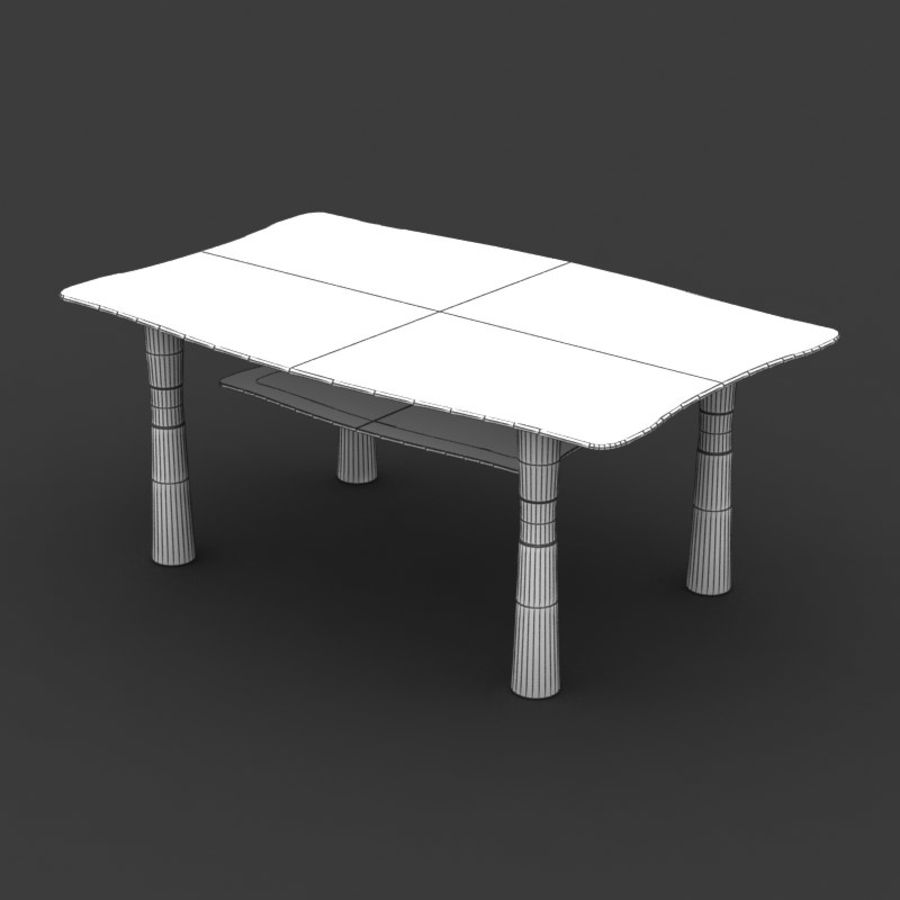 Centerbord 09 royalty-free 3d model - Preview no. 6